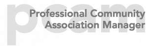 Professional Community Association Manager logo