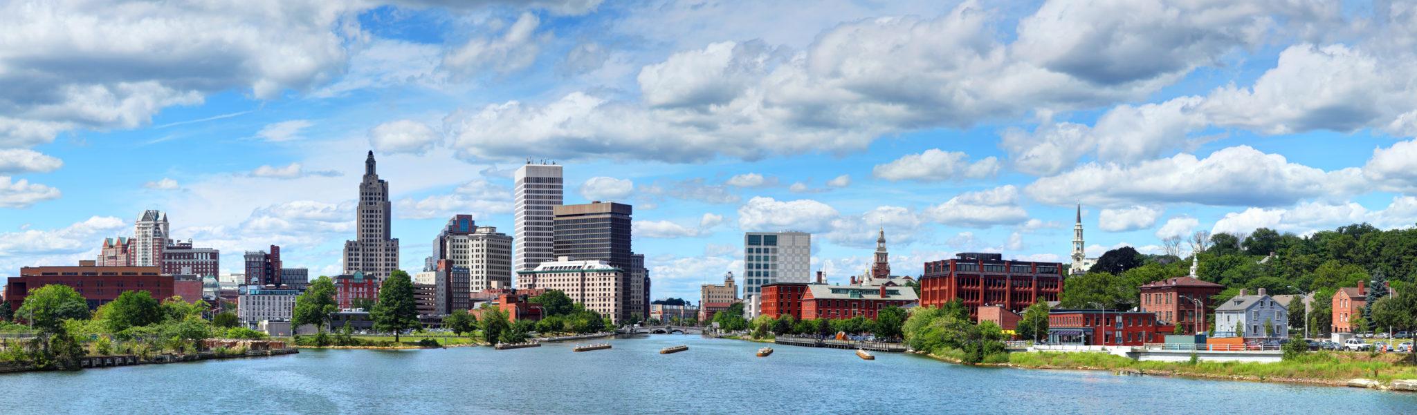 Providence, Rhode Island Skyline Panorama